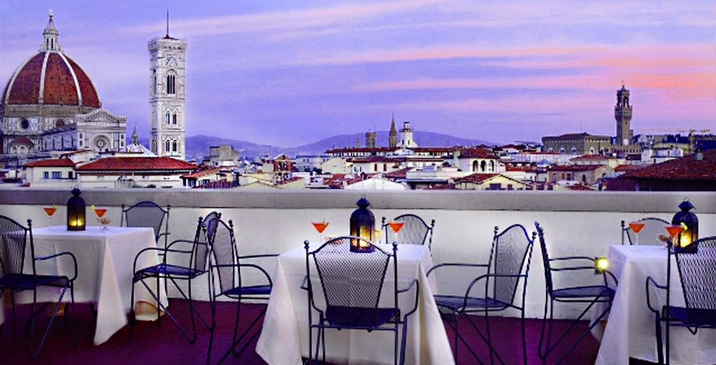 Take in the awe-inspiring rooftop views of the Duomo