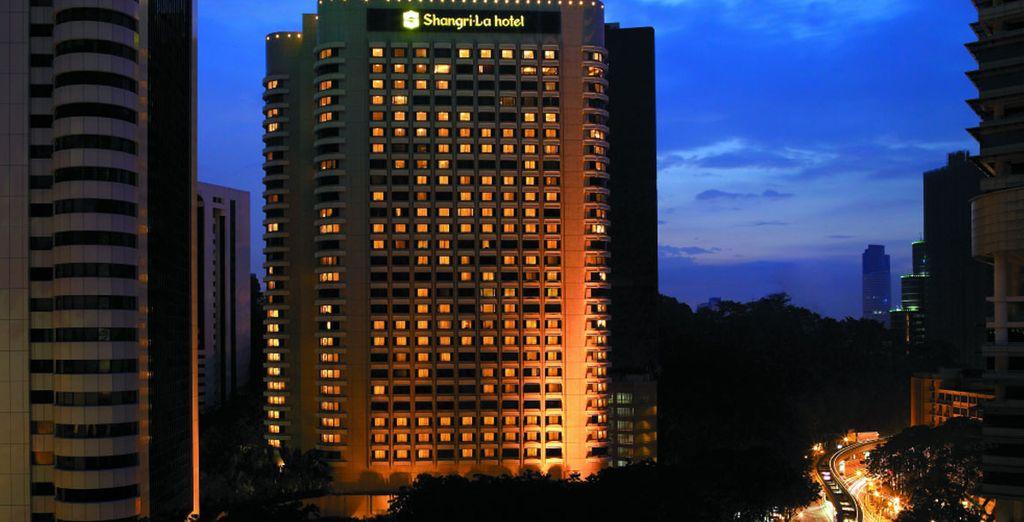 Visit a stunning city hotel