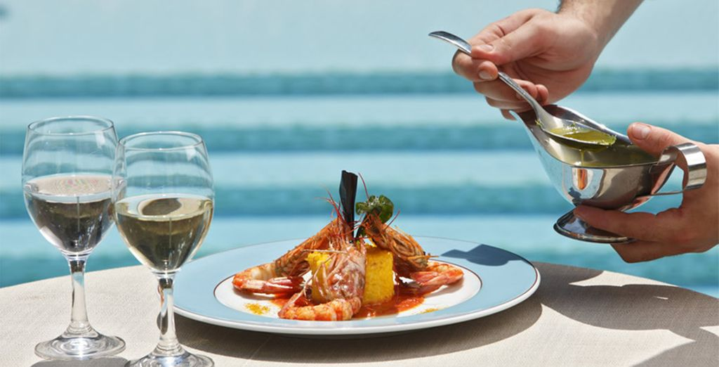 So savour some traditional Sardinian food with the high class twist