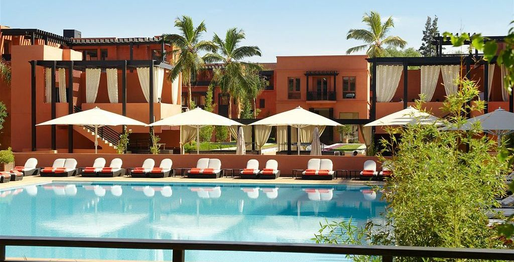 Enjoy a stay at this amazing Riad - Naoura Barriere 5* Marrakech