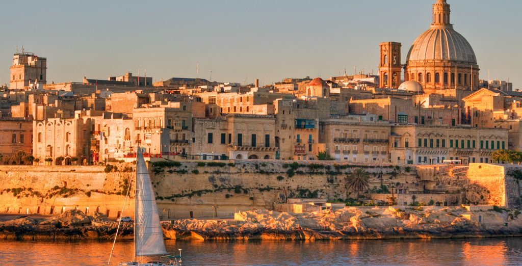 Take a trip to the historic capital, Valletta