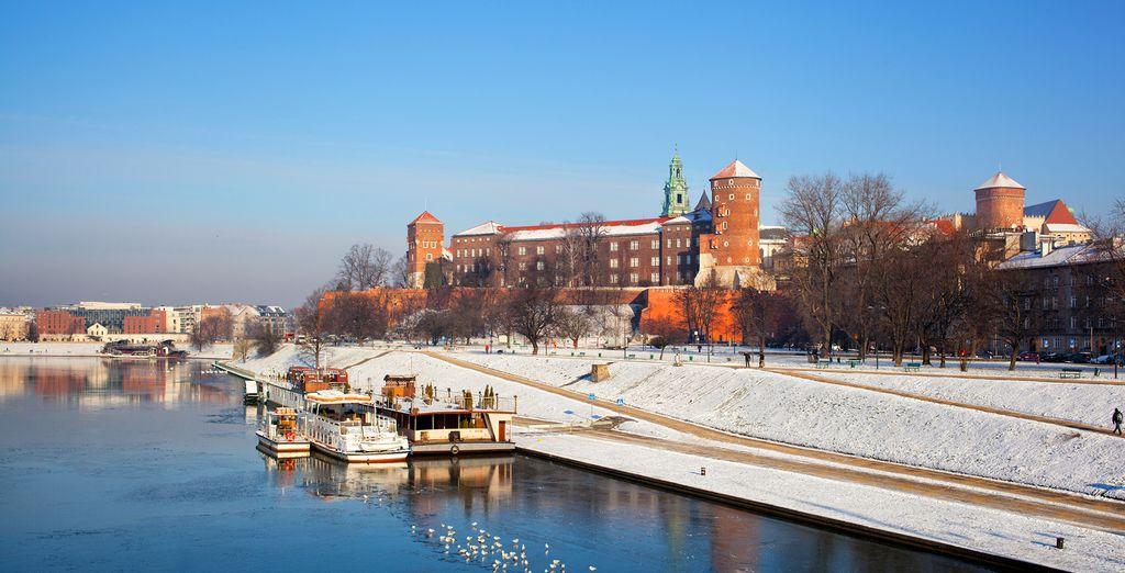 Explore the beguiling city of Krakow under Winter's gentle glow