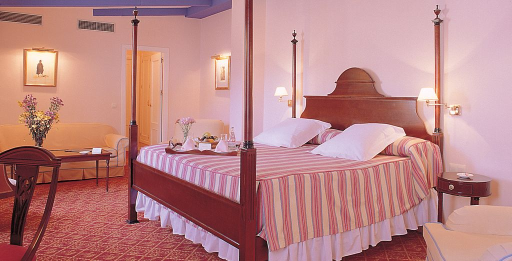 Stay in a welcoming and homely Superior Room