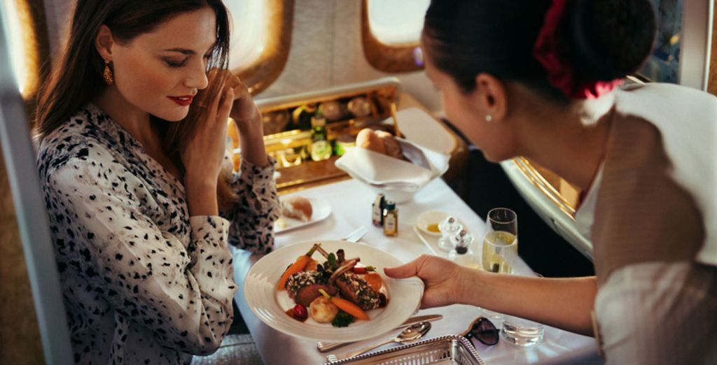 Indulge in delectable fine dining