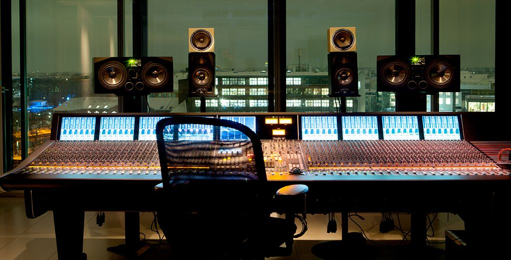 And unique features like a recording studio