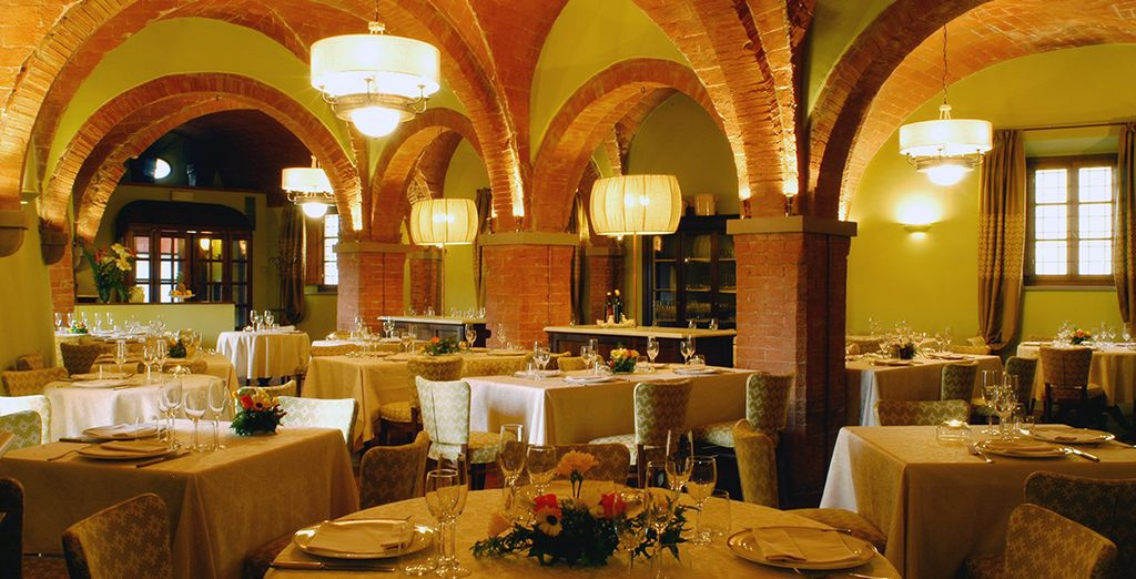 Don't miss Restaurant Mannaioni, located in the old olive oil mill