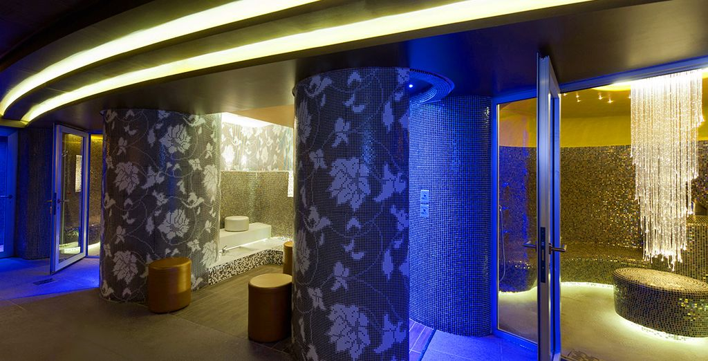 Spoil yourself at the luxury spa onboard..