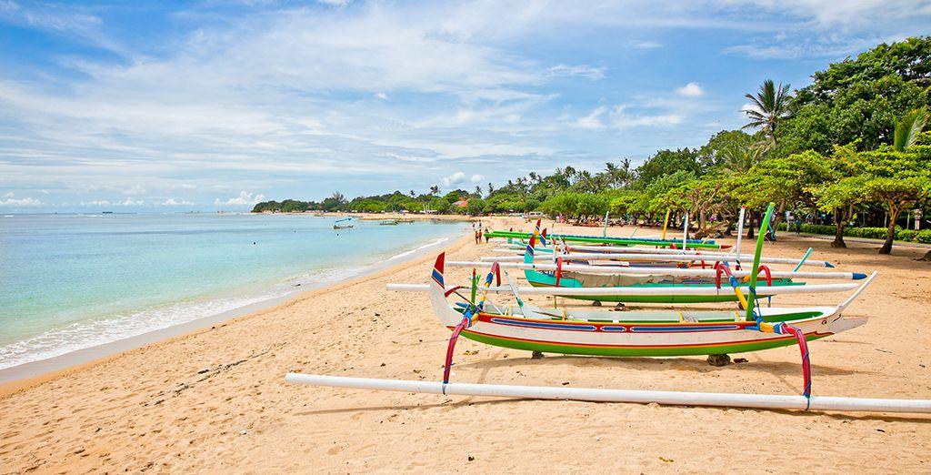 In a luxury seaside setting in Nusa Dua