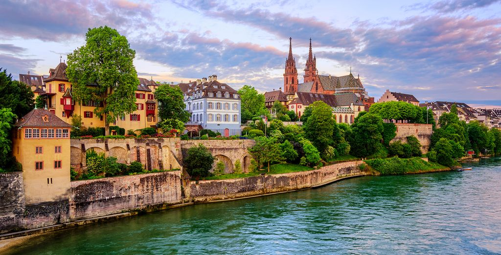 Discover the riverside charm of Basel