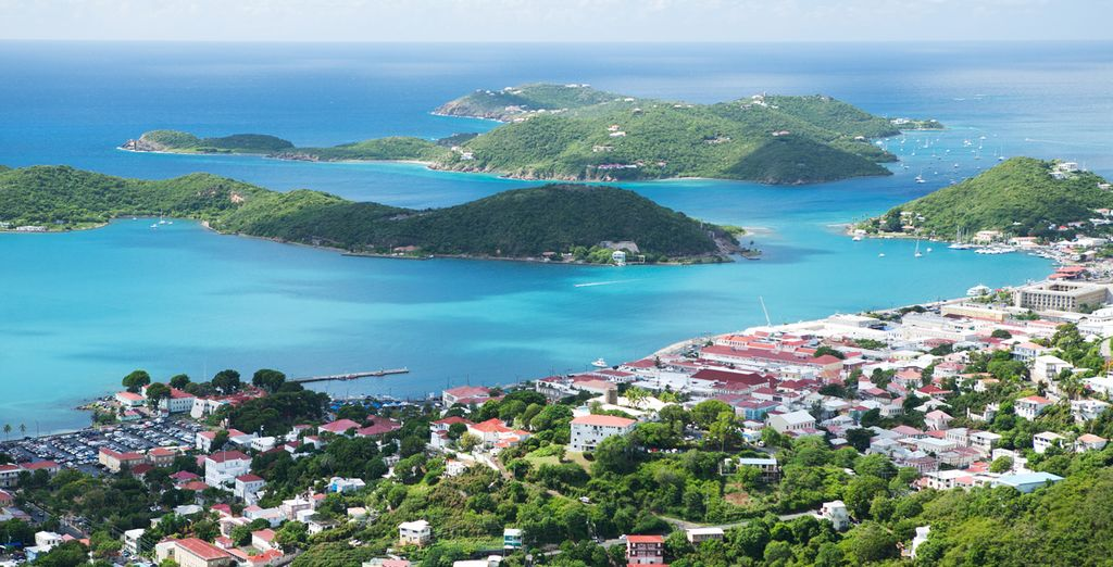 Sail into picturesque bays (Charlotte Amalie, St. Thomas)