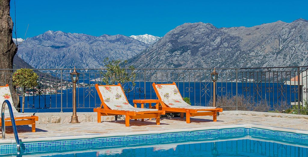 Soak up the breath-taking vistas - Sunset Apartments Kotor Bay Kotor