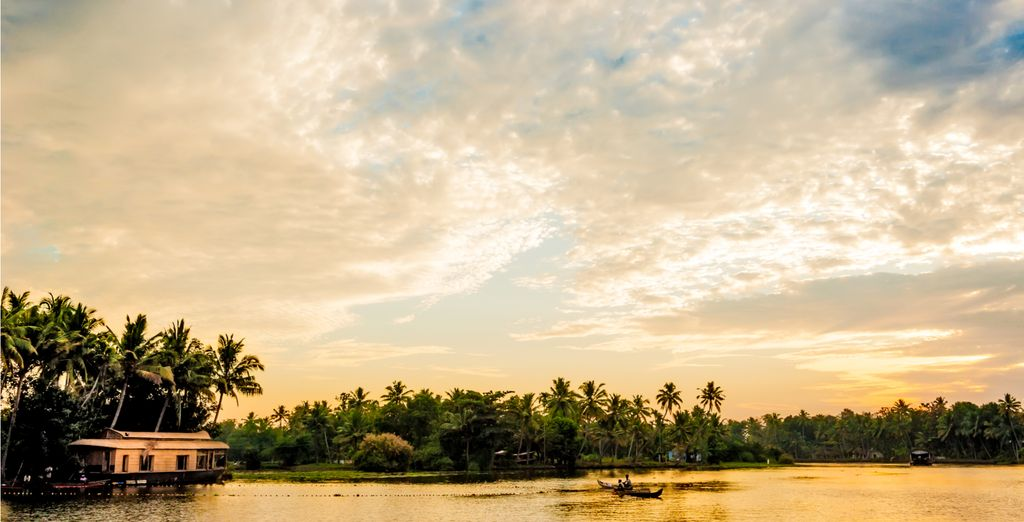 Before ending your trip on the idyllic backwaters of Alleppey