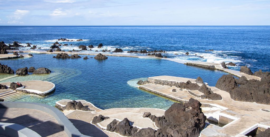 Before discovering the gorgeous rock pools of Madeira