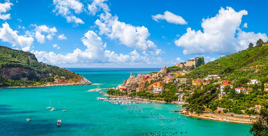 Explore the beautiful Ligurian coastline