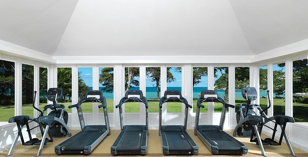 And check out the brand new fitness centre
