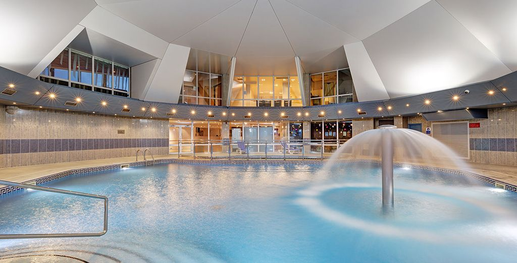 Or head to the serene spa to help you unwind
