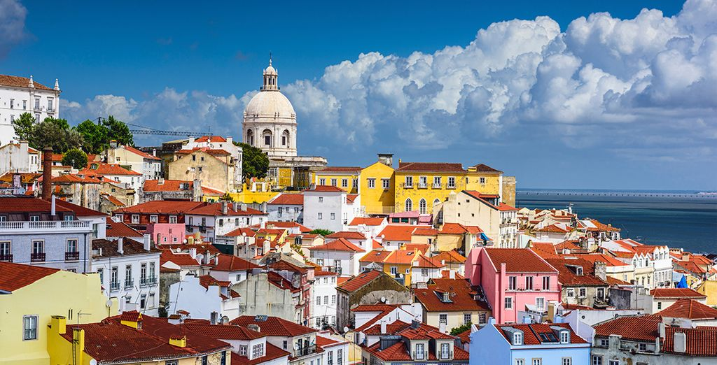 Take a day trip to Lisbon - just over 30 minutes away
