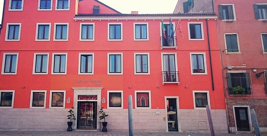 Your hotel is situated in a typical Venetian town house in its iconic old town