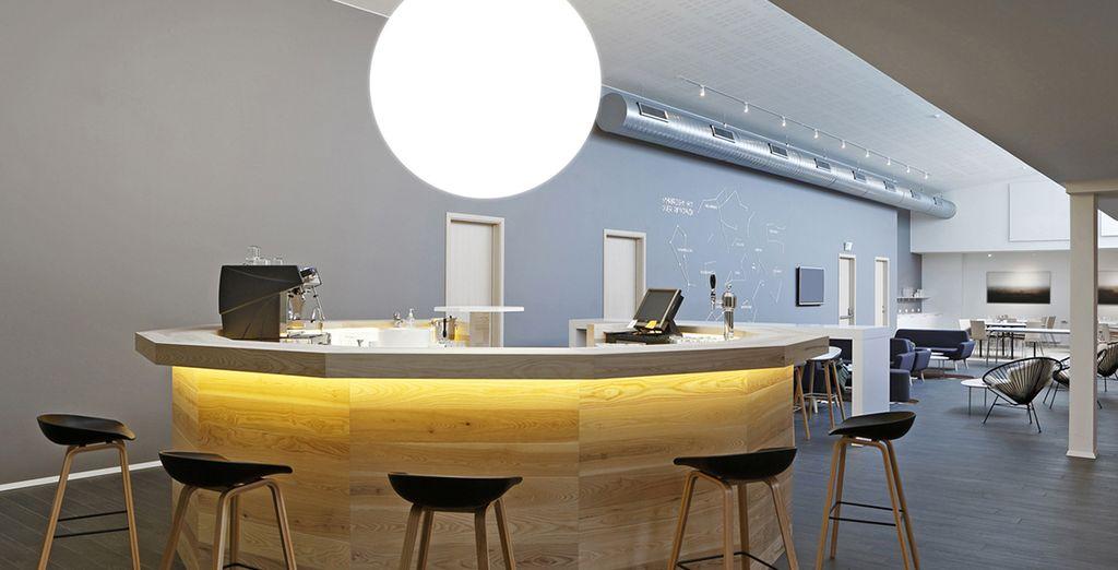 And minimalist decor