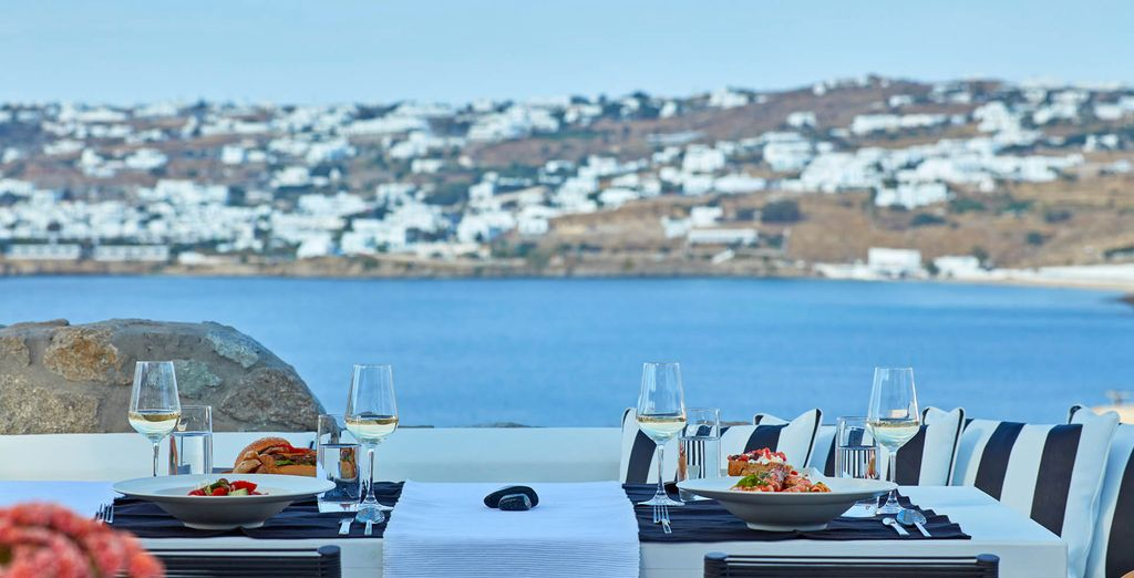 Have a great meal with a view!