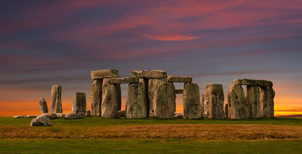 Explore the mysterious monument of Stonehenge