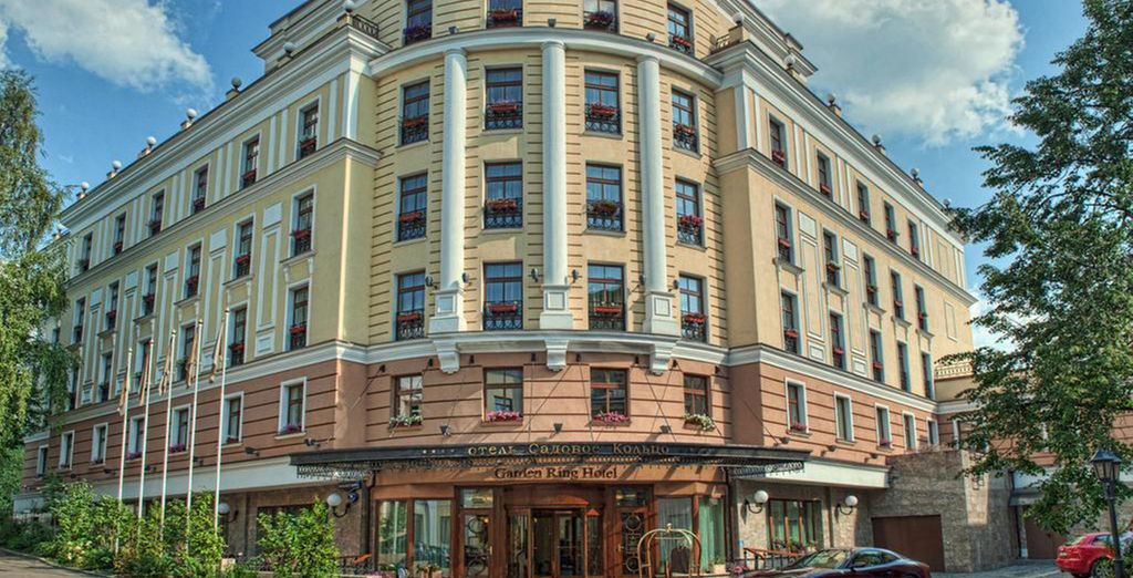 Excellently located, just 3km from the Kremlin