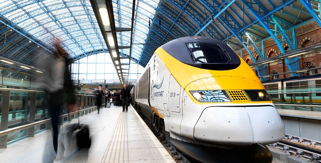 Why not choose to travel from London to Paris on the Eurostar?