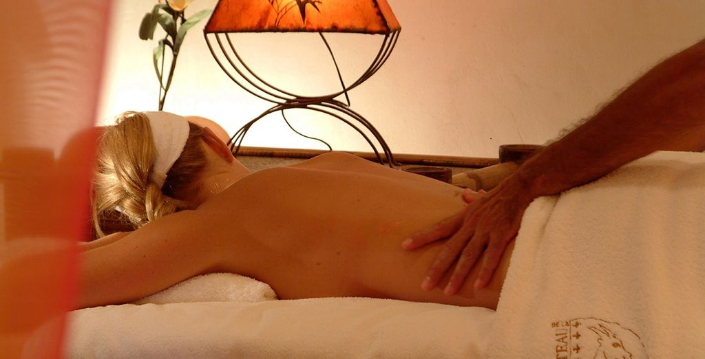 Why not indulge in a  massage to ease any post flight tensions?