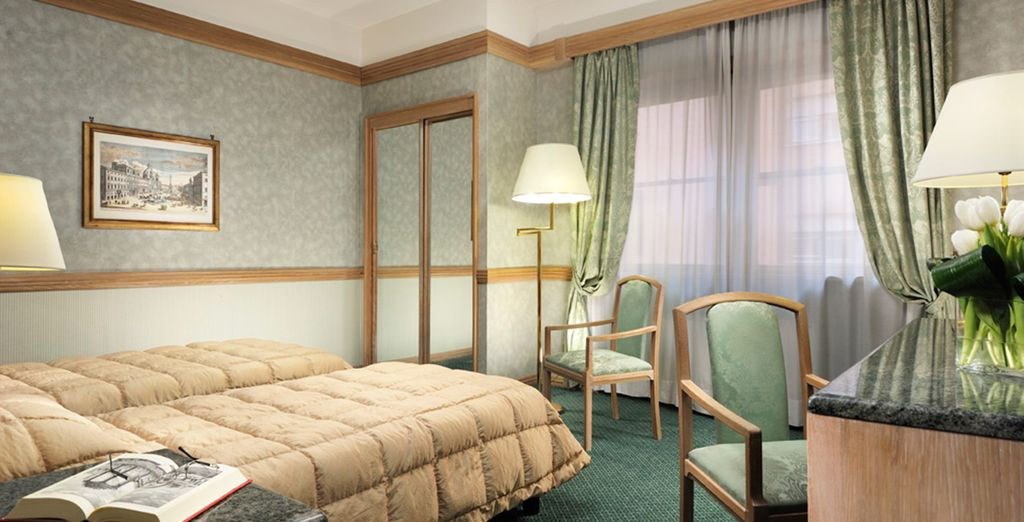 Where you will stay in a Superior room