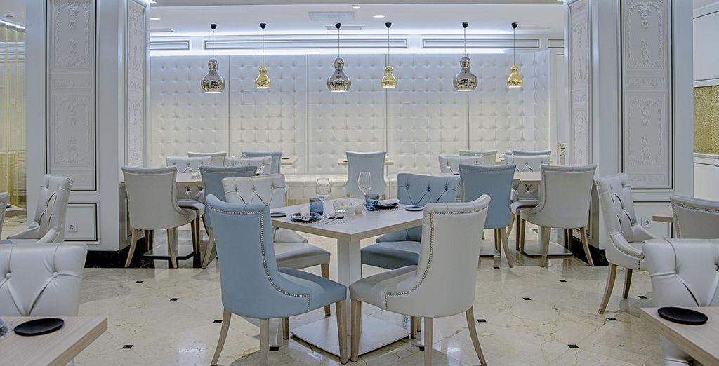 With elegant spaces