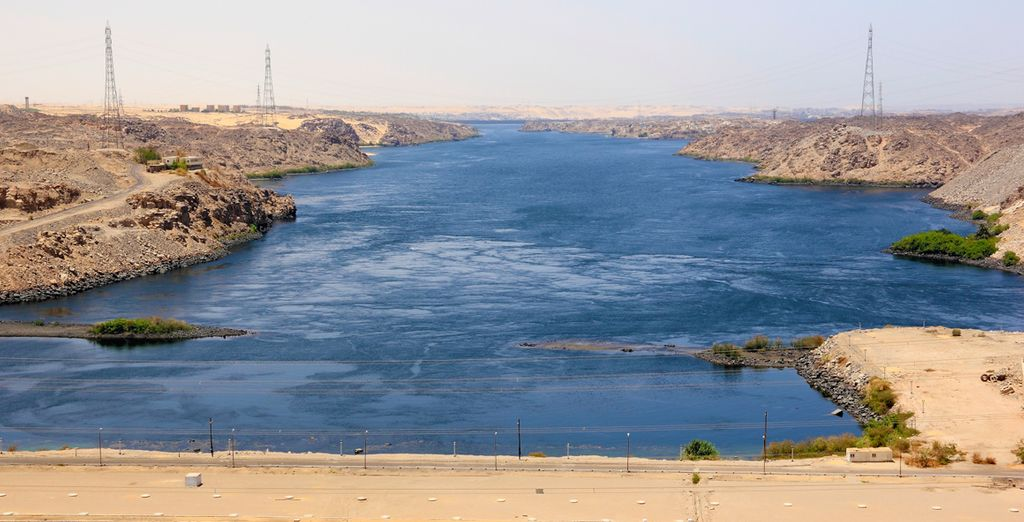 Sail to Aswan and relish the awesome construction of the High Dam