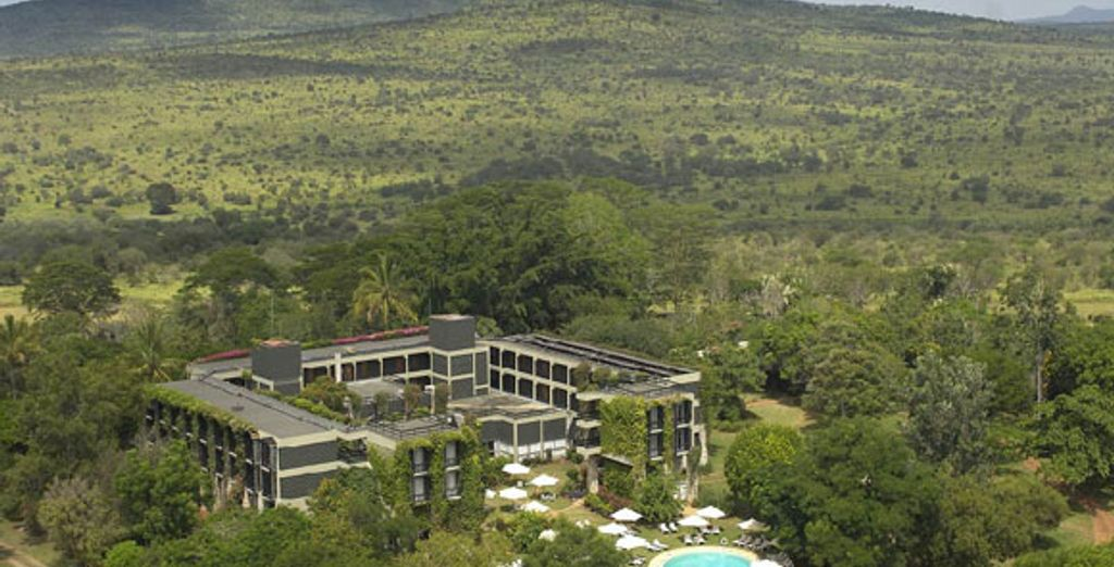 - Kenyan Beach & Safari - Sarova Taita Hills Game Lodge**** - Swahili Beach Hotel**** - Kenya Kenya