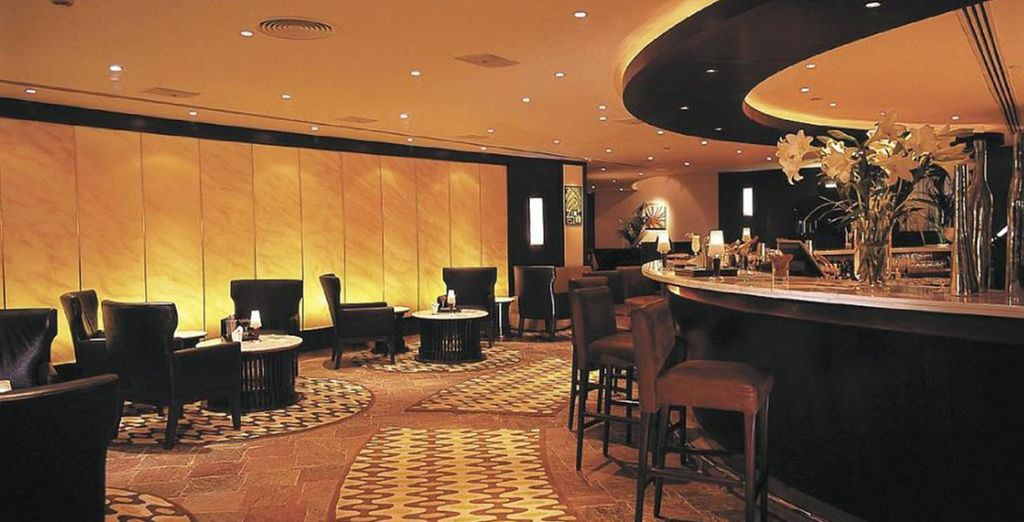 Head up to Jazz Bar on the 10th floor, sip exotic cocktails and listen to live music