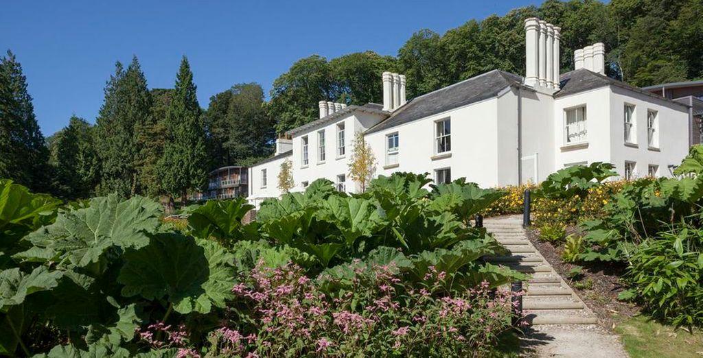 Where superb sights enchant - The Cornwall Hotel Spa & Estate**** - St. Austell, Cornwall - England Cornwall