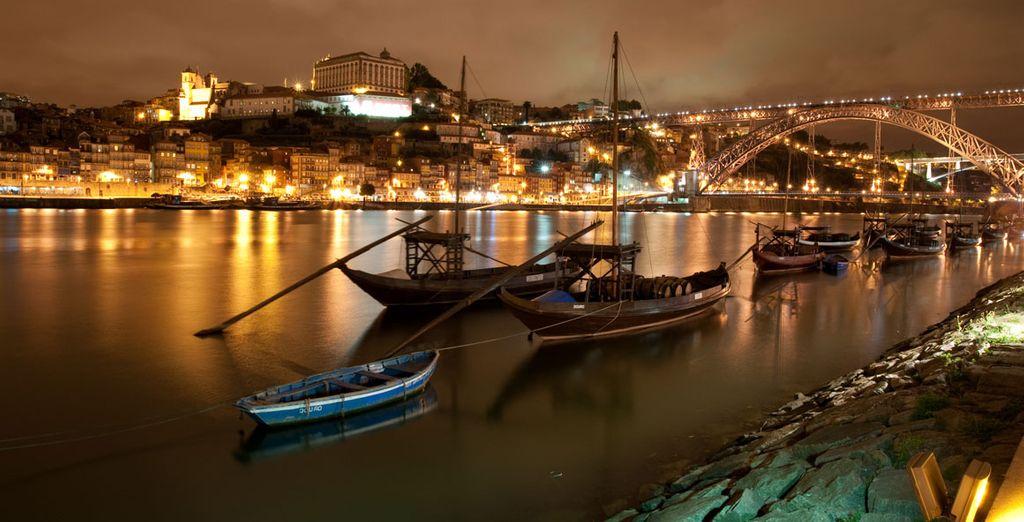 Venture outside to see Oporto's magic..