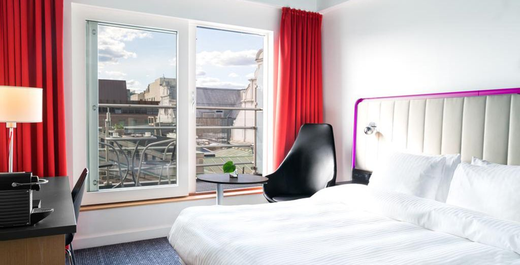 In Oslo you will stay at the Park Inn