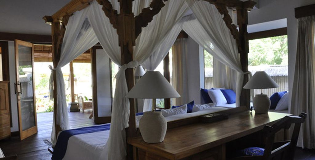 Where you will stay in a Banyan Master Suite