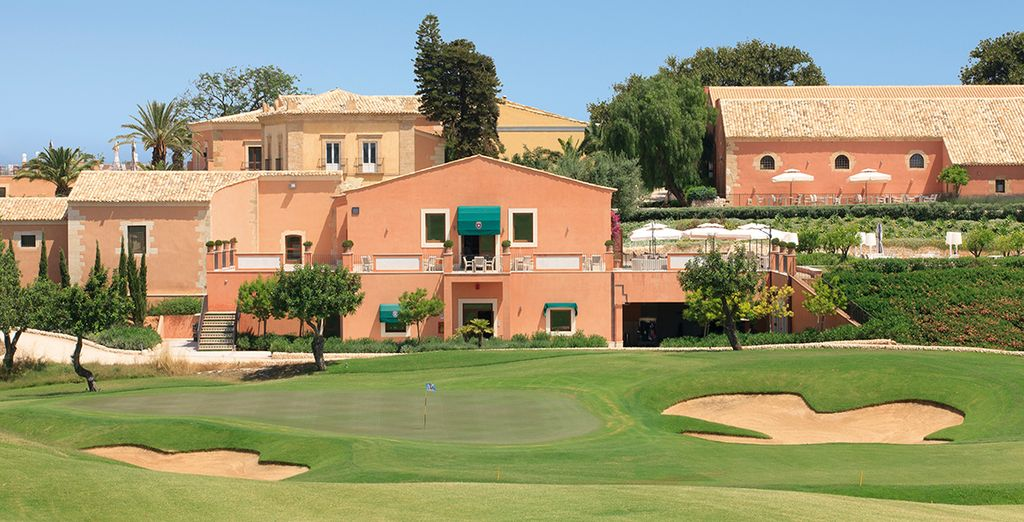 Stay at this traditional, estate-style resort - Donnafugata Golf Resort & Spa 5* Ragusa