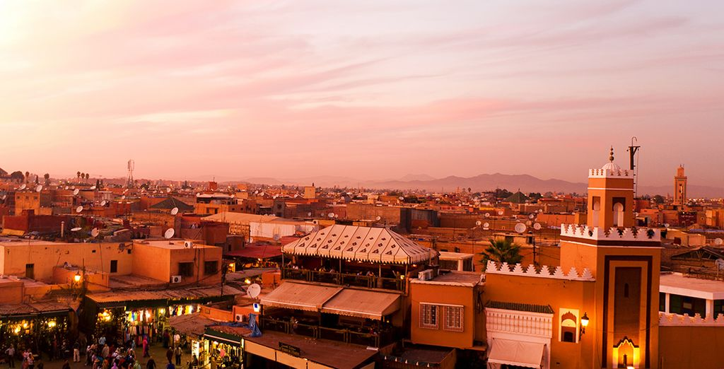 Visit the eclectic souks of Marrakech
