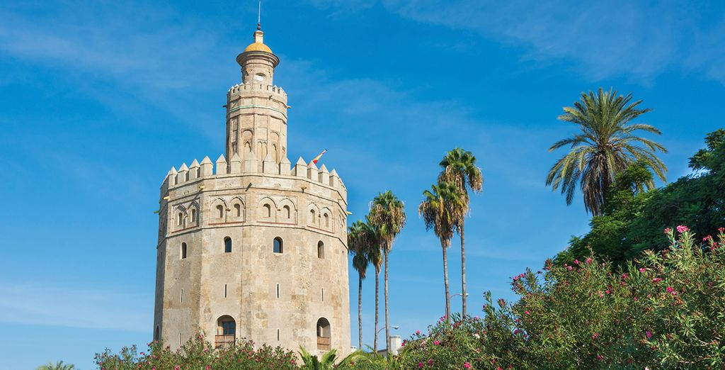 Be sure to visit historic sights like the Golden Tower