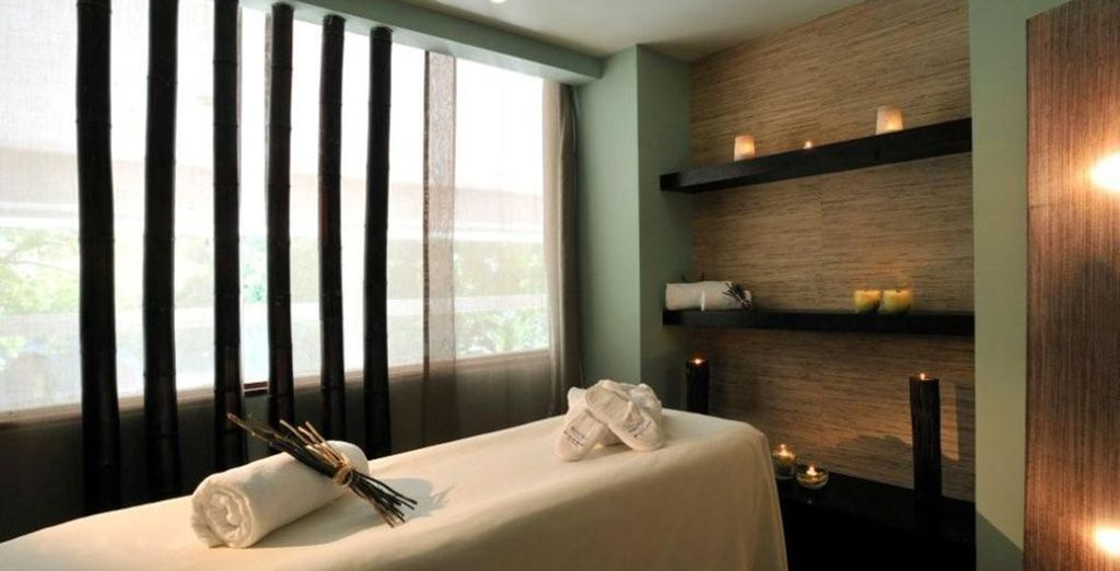 After exploring head to the spa for a relaxing massage