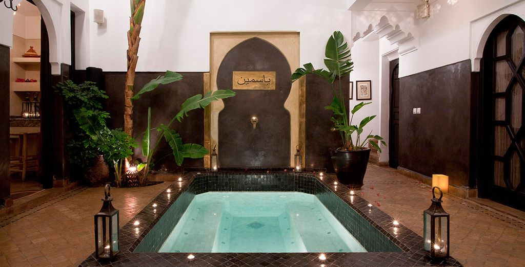 A calm oasis in the heart of Marrakech