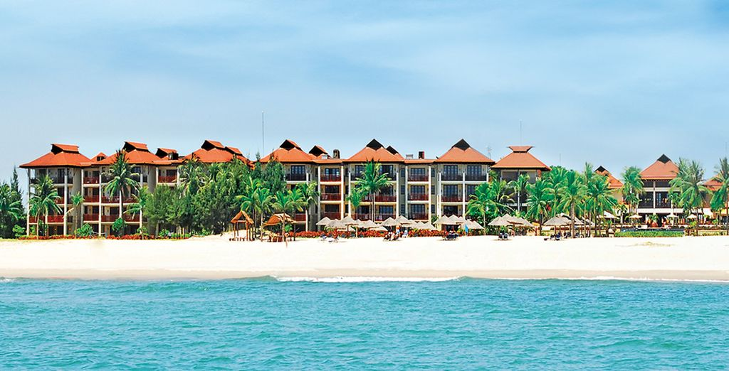 End your tour with a stay at Furama Resort