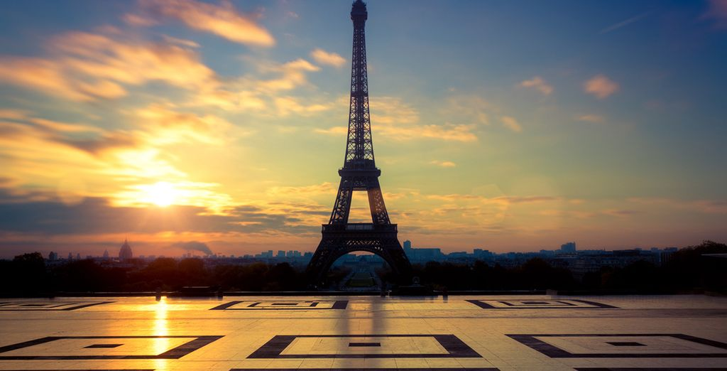 The Eiffel Tower - just 1km from your hotel!