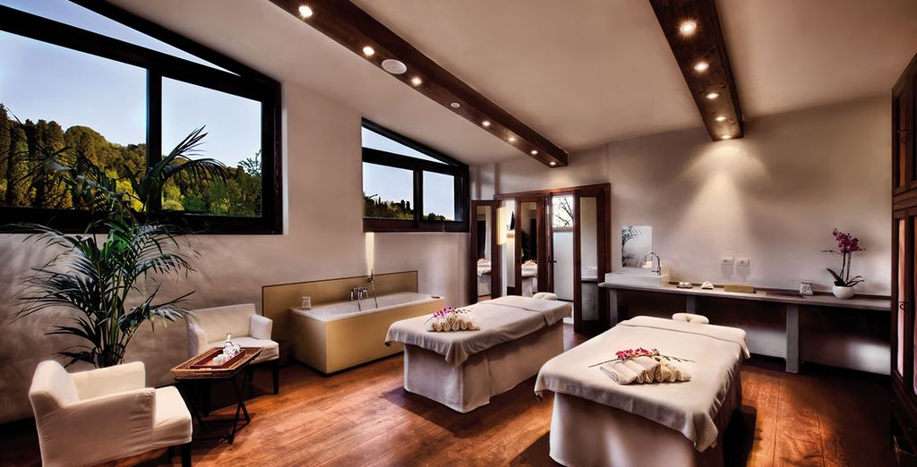 Or stay put, and indulge in a massage at the spa
