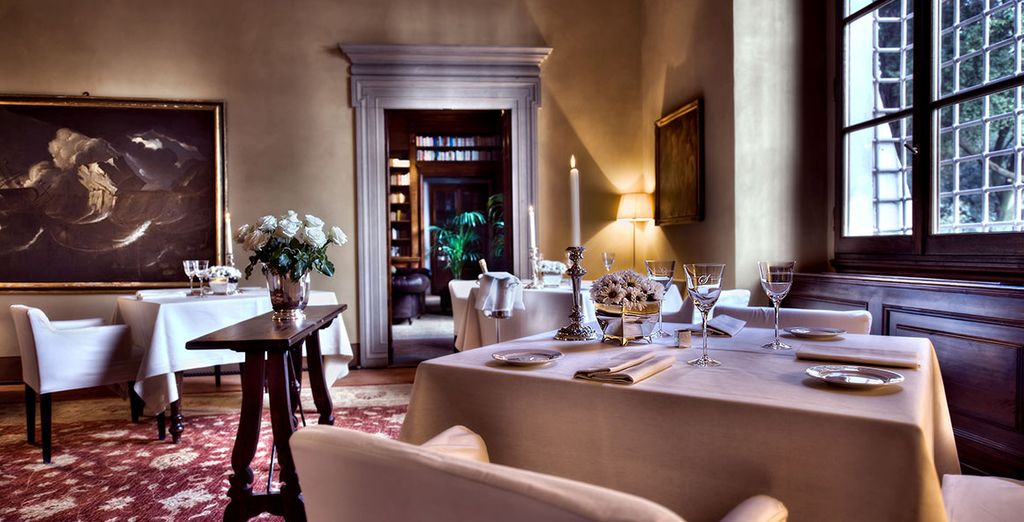 Delicious meals await you in the evening