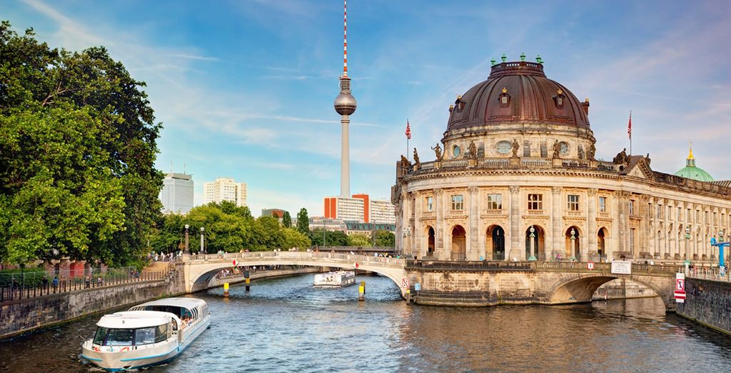 then head out to explore Berlin!