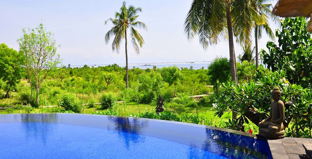 Discover an intimate haven of tranquillity - Santi Sari Hotel 5* Bali
