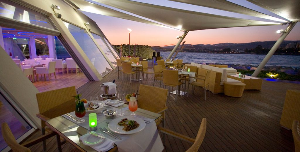 Welcome to the chic & sleek St Raphael Resort