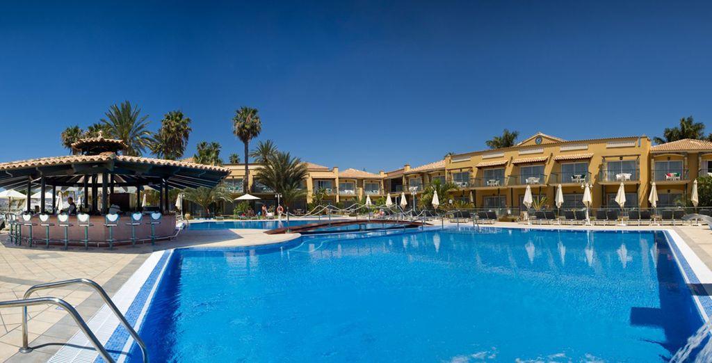 Soak up the blissful Gran Canarian sunshine